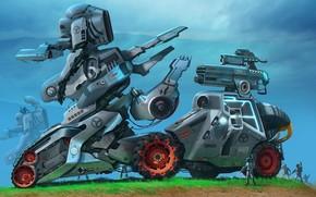 technique, Robots, Soldiers