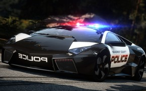 Supercar, police, road, Chase