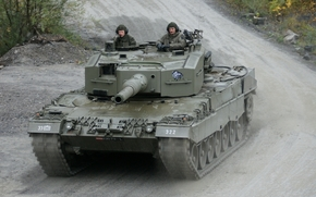 tank, Austria, road, dirt