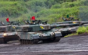 Tanks, teaching, dirt, South Korea