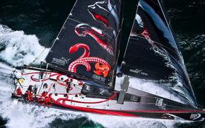 yacht, puma, vola, Il giro del mondo
