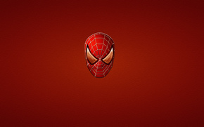 spiderman, comic strip, red, minimalism