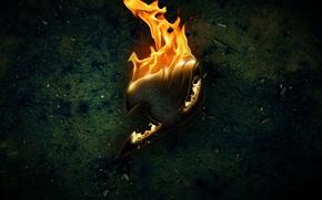 Racconto di Fairy Tail, Fairy Tail, segno gilda, fuoco