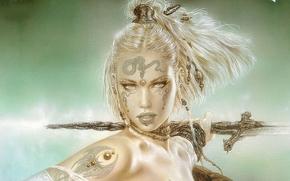 luis royo, Warrior, Art