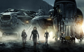 Prometheus, Film, action