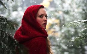 Petit Chaperon Rouge, hrone, Amanda Seyfried