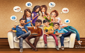 Facebook, youtube, email, gorjeo, redes sociales, Redes Sociales