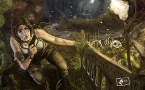 Lara Croft, girl
