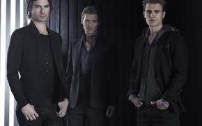 The Vampire Diaries, serie, Paul Wesley, Ian Somerhalder