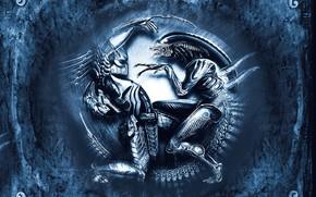 avp, alien vs predator, obcy, drapienik, Potwory