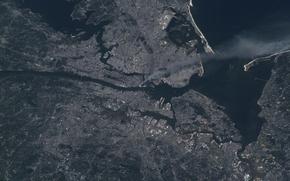 New York, Manhattan, act of terrorism, Shopping center, smoke, ms