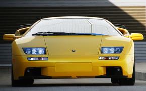 Lamborghini, Diablo, Beautiful, front, Lamborghini
