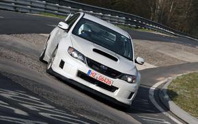 Subaru, Impreza, VeErIks, EsTiAy, Verso, sedn, Coche, Papel pintado, Japn, Alemania, Color blanco, Subaru