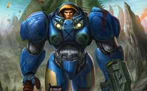 Power Armor, cigar, weapon