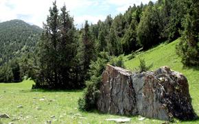 Montagne, natura, shahristan