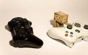 PlayStation, Sony, PALANCA DE MANDO, caja, XBOX