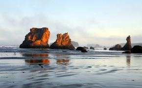 morze, Rocks, krajobraz