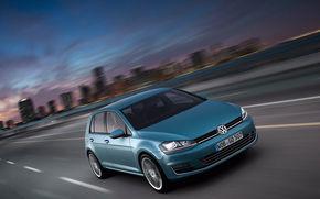 вольксваген, гольф, город, движение, Volkswagen