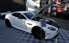 Aston Martin, v12, vantage, coupe, dub, 2012, sema, Aston Martin, Supercar, exhibition