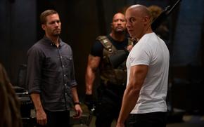 Vin Diesel, Paul Walker, Dwayne Johnson