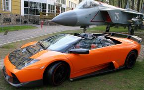Tuning, plane, area, Lamborghini