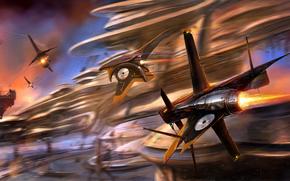 aircraft, rate, race, canyon