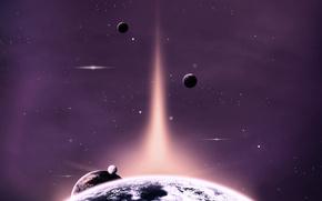 star, asteroid, planet, galaxy, universe, black hole, solar system, space, gas, object, nebula, quasar, comet, meteor, neutron, orbit, pulsar, satellite, sun, supernova, dwarf