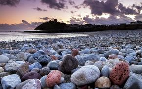 costa, pietre, paesaggio