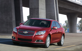Chevrolet, Chevrolet, rouge, beau, voiture, machine, route, vitesse, Chevrolet
