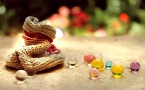 настроения, мешочек, шарики, стеклянные, фон, обои