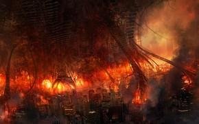 Feuer, Feuer, Katastrophe, Monster