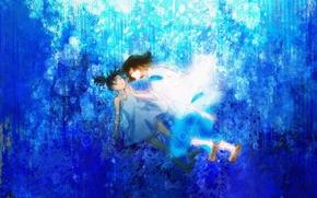 Art, Hayao Miyazaki, Spirited Away, hack, Chihiro, girl, guy, anime