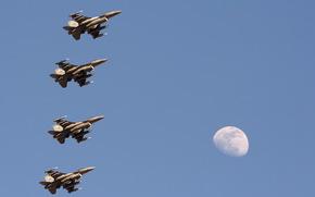 самолёты, оружие, небо
