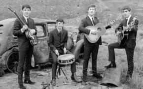 La banda de rock, joven