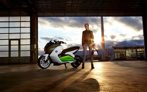 bmw, e-scooter, electric, ecologic, Concept, 2011