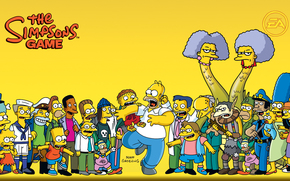 the simpsons, homer, barth, all, Simpsons, brother, Homer, almost all, wallpaper, Cartoon