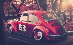 Volkswagen, Auto, carriola, auto, macchinario, Auto