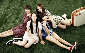 Core du Sud, Musique, Filles, Asiatiques
