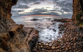 mare, Rocks, natura, paesaggio