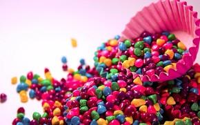 настроения, конфеты, конфетки, цветные, яркие, розовый, зеленый, фиолетовый, форма, кекс, фон, обои