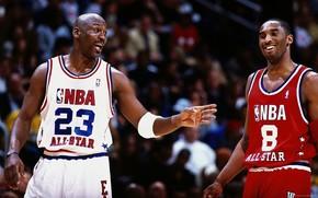 Коби Брайант, Майкл Джордан, НБА, Баскетбол