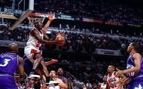 Майкл Джордан, НБА, Баскетбол