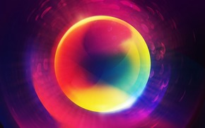 абстракция, цвета, спектр, радуга