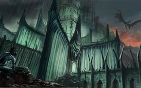 Arte, Gollum, fortezza, IAASTD, pietre, Il Signore degli Anelli