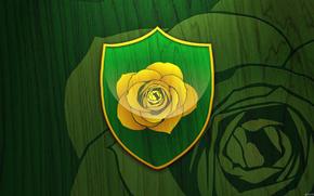 Песнь льда и огня, Игра престолов, сериал, книга, герб, роза, девиз, Тирелл, дом Вестероса, золотая роза, травянистое поле