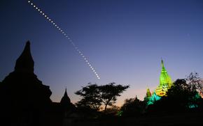 月, 夜, 大聖堂