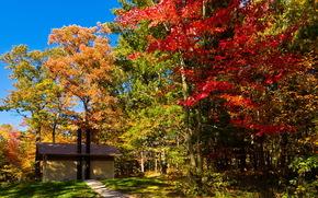USA, Wisconsin, Park Lake Mills