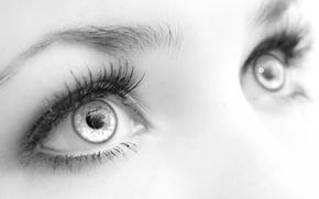 眼睛, vzklyad, 宏, 睫毛