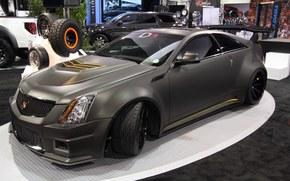 Cadillac, CTS-V, toyo Reifen, 2011, Abstimmung, sema, Cadillac, PZT, Abstimmung, Ausstellung, autoshow