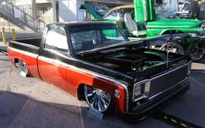 dub, 1975, c10, lowrider, Chevrolet, afinao, sema, Lowrider, exposio, autoshow